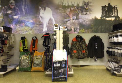 Så här såg det ut när vi öppnade i december men redan nu har vi utökat butiksytan för att bättre exponera våra produkter.