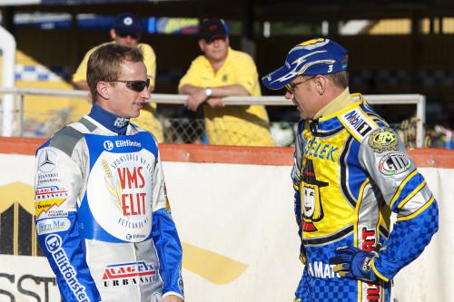 2004: Två kungar på speedwayovalen, Rune Holta som regerade på banan i Vetlanda och mr speedway i Sverige, Tony Rickardsson