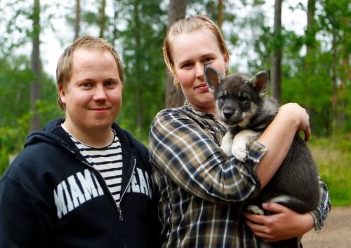Cindy har flyttat till Dala-Järna till Per och Evelina.